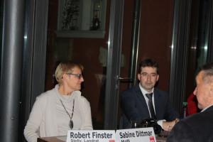 Dr. Jürgen Kößler und MdB Sabine Dittmar