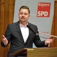 Vorsitzender der SPD Schweinfurt/Kitzingen: Markus Hümpfer