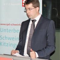 Dr. Jürgen Kößler bei seiner Vorstellungsrede